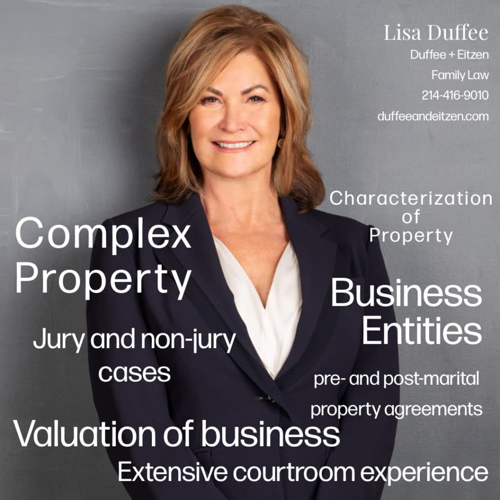 Dallas Divorce Attorney Lisa Duffee