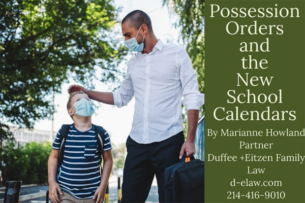 Possession Orders Back to School Covid19, explained by Marianne Howland on the blog: www.d-elaw.com