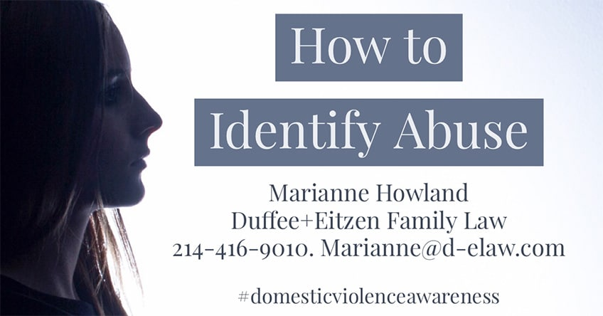 How to Identify Abuse - Domestic Violence Awareness